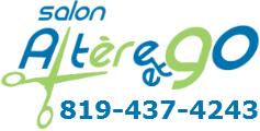 Salon de coiffure Sherbrooke Logo Altère et Go 1471 rue Cabana